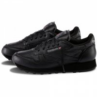 Кроссовки Reebok  (black leather) 25-08-10M