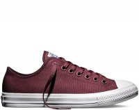 Мужские кеды Converse Chuck Taylor All Star II Low (bordeaux) 40-07-12M