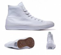 Женские кеды Converse Chuck Taylor All Star II High (white) 30-07-27