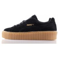 Женские кроссовки Puma Rihanna Creepers (black/brown) 24-08-08