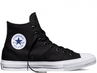 Мужские кеды Converse Chuck Taylor All Star II High (black) 40-07-19M