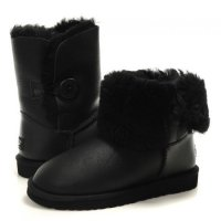 Черные UGG Bailey Button Metalic 21-10-04