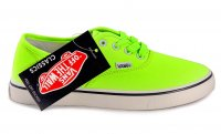 Женские кеды Vans Authentic Neon Green 63-07-41W